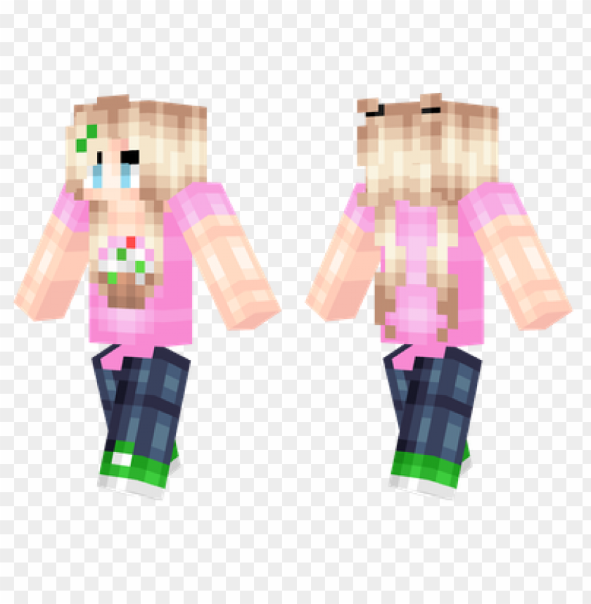 free PNG minecraft skins cupcake girl skin PNG image with transparent background PNG images transparent