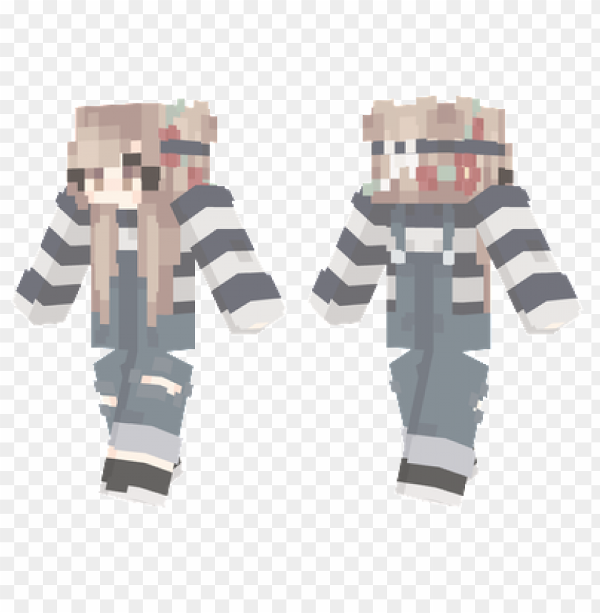 Minecraft Skins Cute Flower Girl Skin Png Image With Transparent