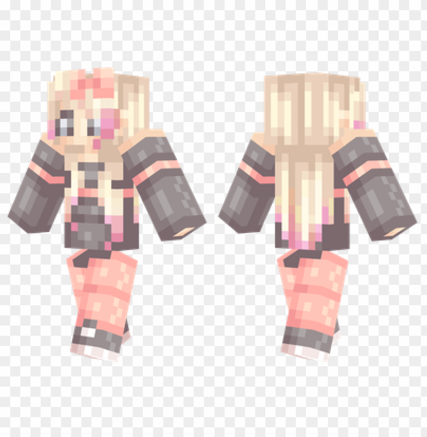 Minecraft Skins Cute Girl Skin Png Image With Transparent Background Toppng