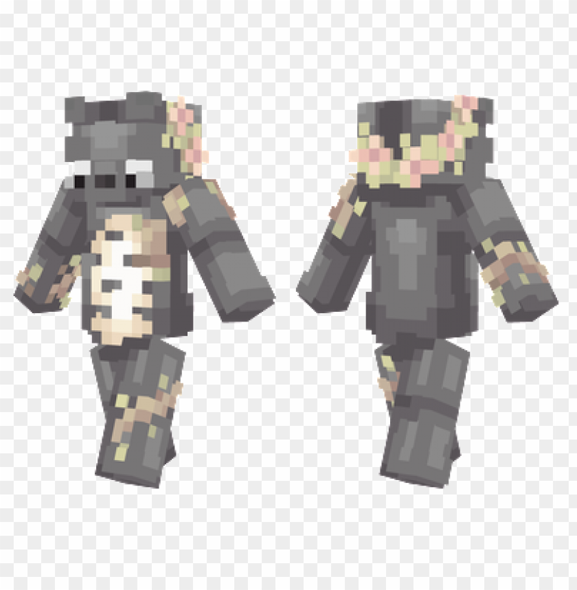 Minecraft Skins Cute Totoro Skin Png Image With Transparent