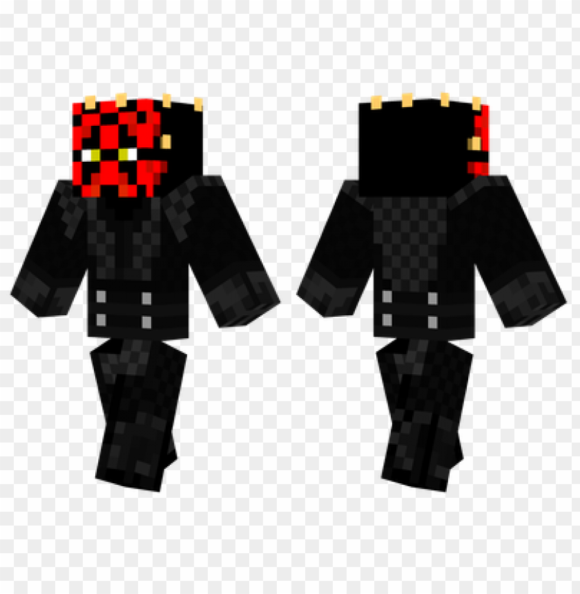 free PNG minecraft skins darth maul skin PNG image with transparent background PNG images transparent