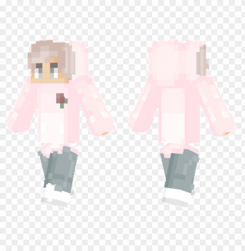 free PNG minecraft skins faded pink skin PNG image with transparent background PNG images transparent