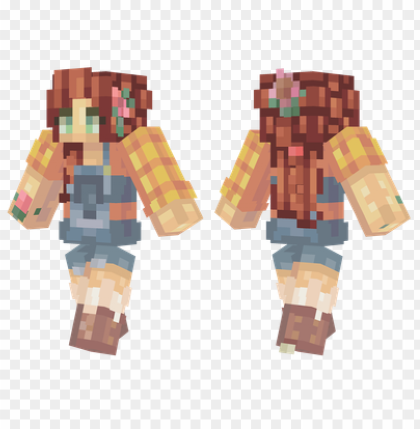 free PNG minecraft skins farmer girl skin PNG image with transparent background PNG images transparent