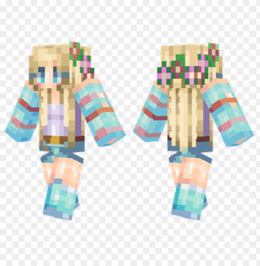 free PNG minecraft skins flower girl skin PNG image with transparent background PNG images transparent