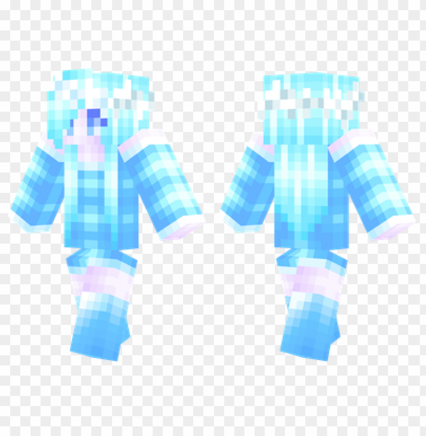 free PNG minecraft skins frost girl skin PNG image with transparent background PNG images transparent