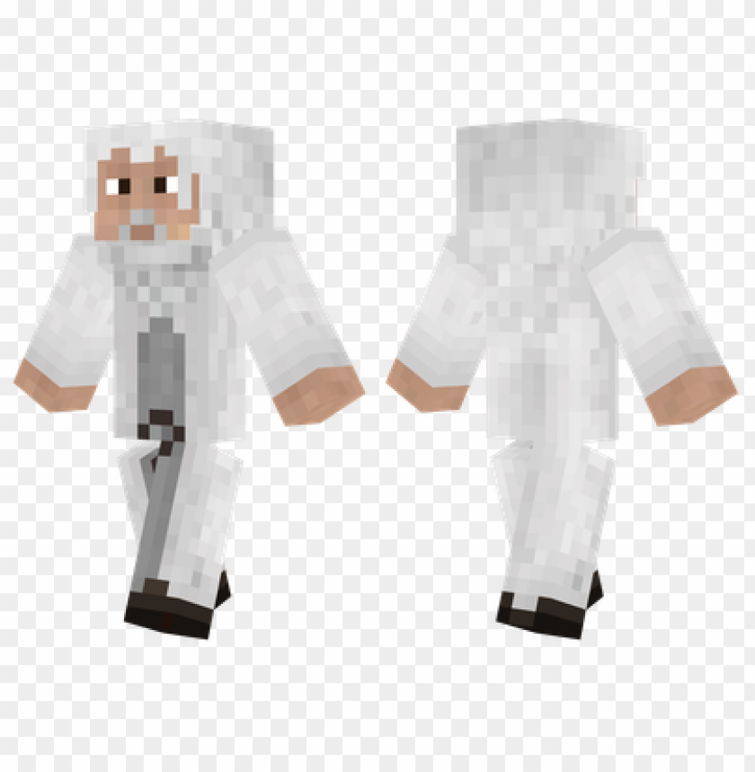 minecraft skins gandalf skin PNG image with transparent background@toppng.com