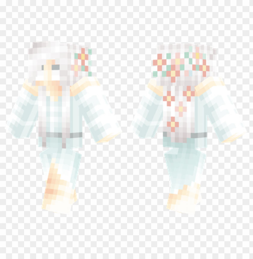 free PNG minecraft skins ghost girl skin PNG image with transparent background PNG images transparent