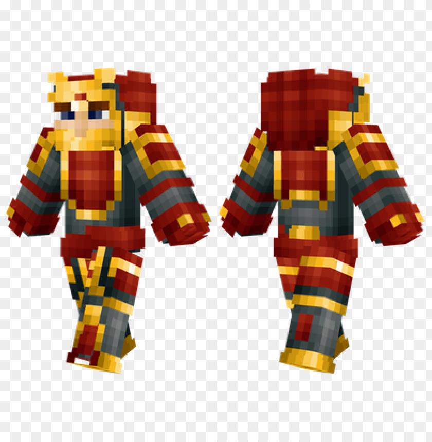 free PNG minecraft skins gold samurai skin PNG image with transparent background PNG images transparent