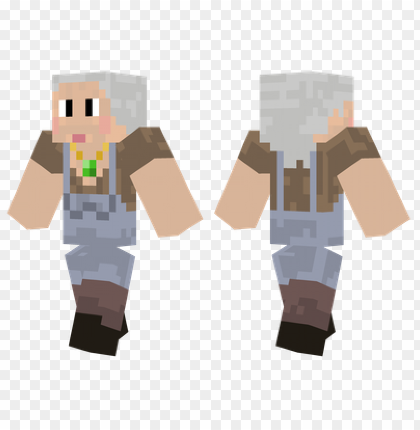 Minecraft Skins Granny Bacon Skin Png Image With Transparent
