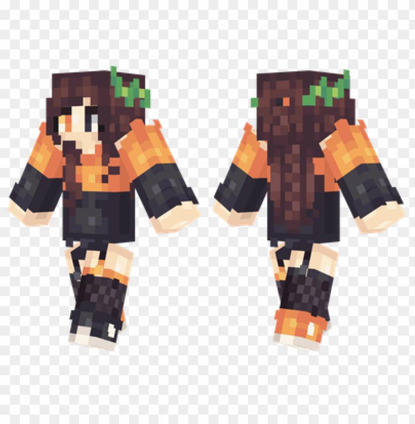 free PNG minecraft skins halloween girl skin PNG image with transparent background PNG images transparent