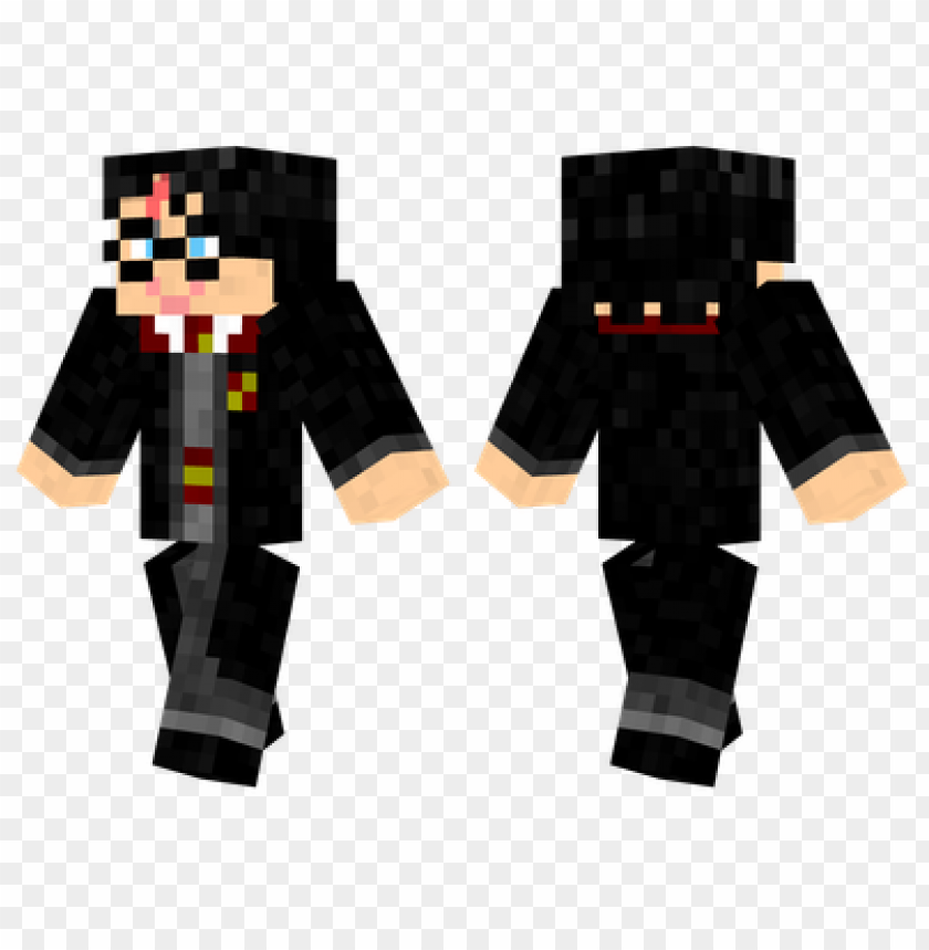 minecraft skins harry potter skin PNG image with transparent background@toppng.com