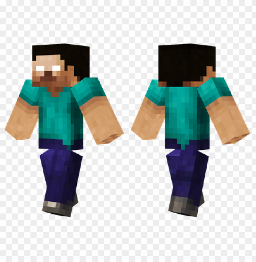 Minecraft Skins Herobrine Hd Skin Png Image With Transparent Background Toppng