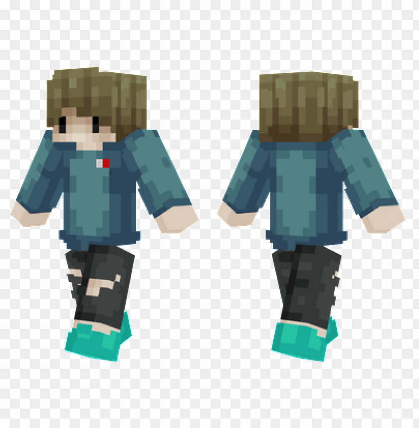 Minecraft Skins Hoodie Boy Skin Png Image With Transparent Background Toppng