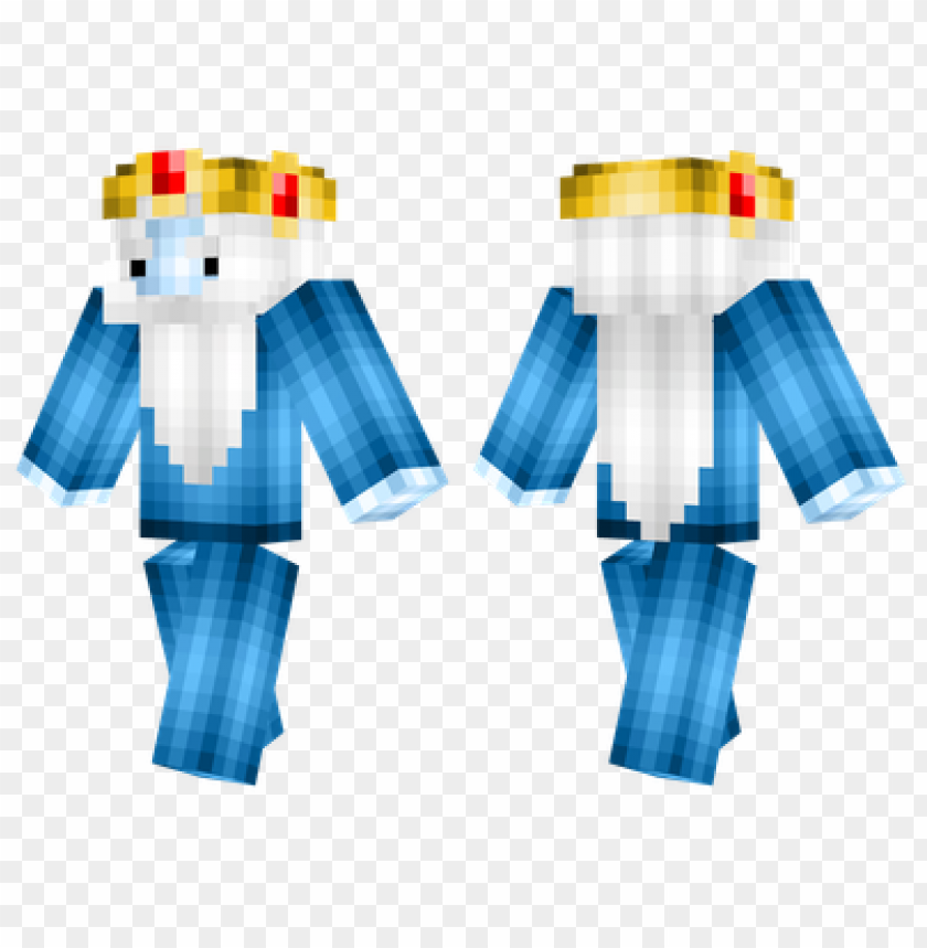 Minecraft Skins Ice King Skin Png Image With Transparent Background Toppng This site is not affiliated with minecraft. minecraft skins ice king skin png image