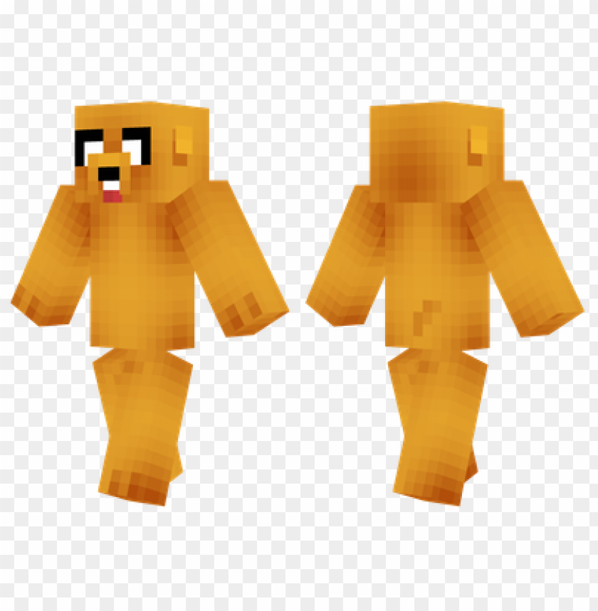 Minecraft Skins Jake The Dog Skin Png Image With Transparent Background Toppng