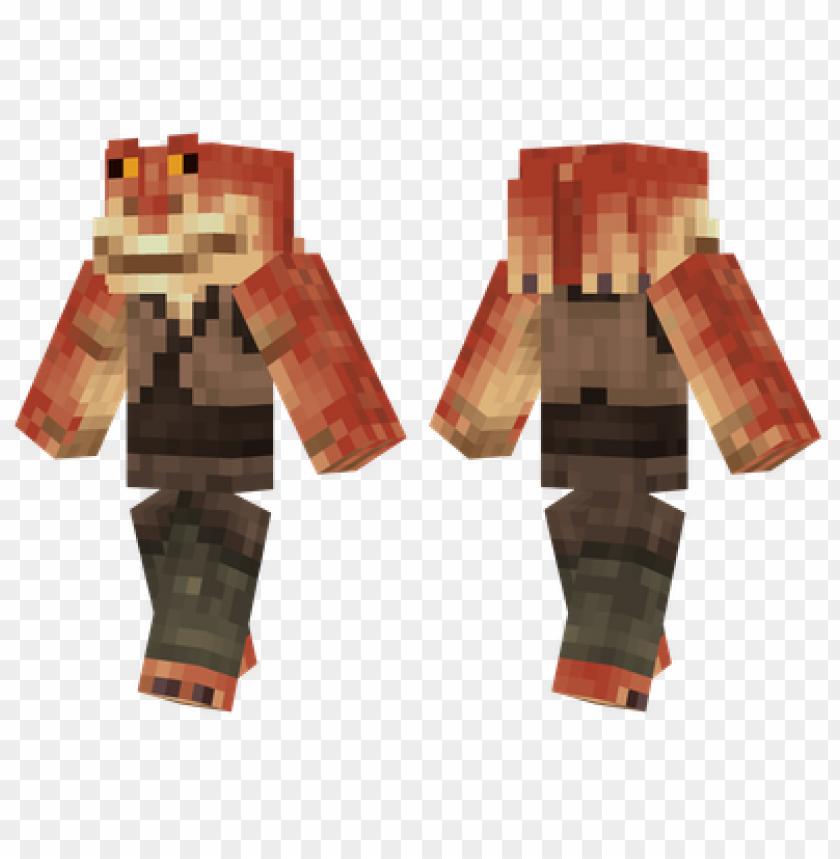 free PNG minecraft skins jar jar binks skin PNG image with transparent background PNG images transparent