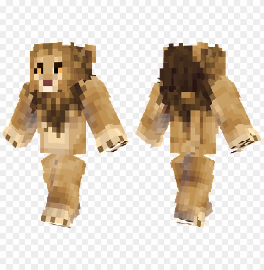 free PNG minecraft skins lion skin PNG image with transparent background PNG images transparent