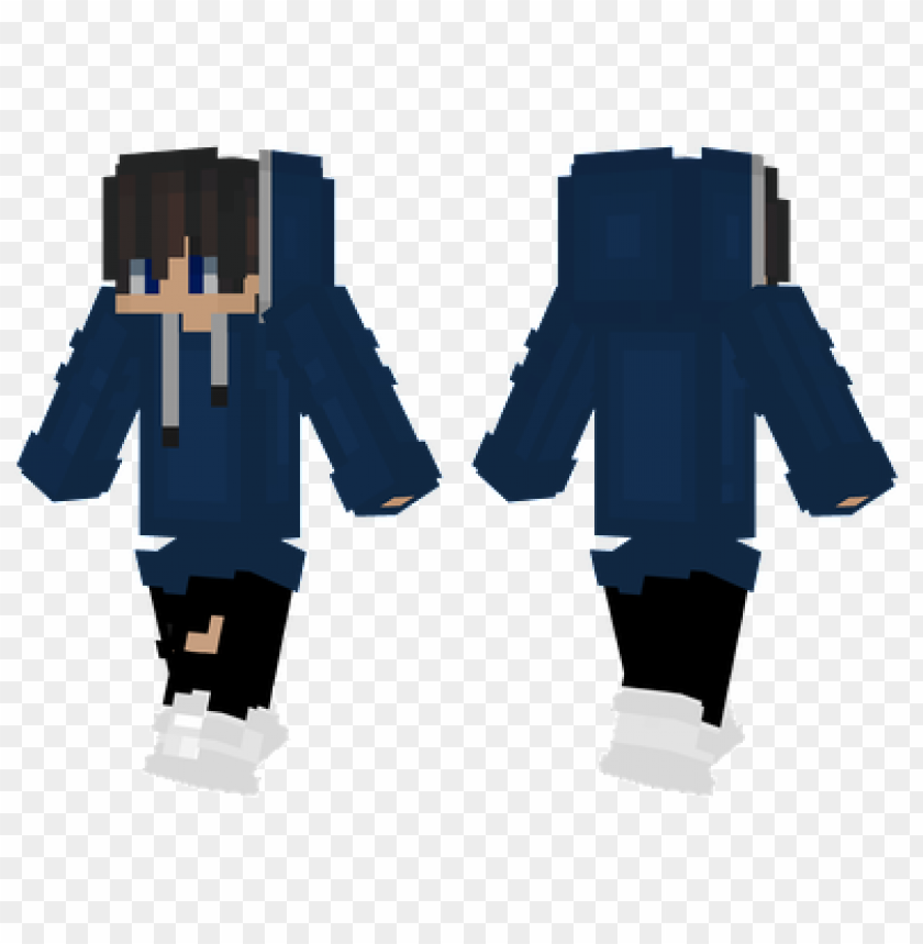 Minecraft Skins Long Hoodie Skin Png Image With Transparent Background Toppng