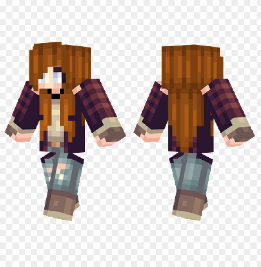 free PNG minecraft skins lumberjack girl skin PNG image with transparent background PNG images transparent