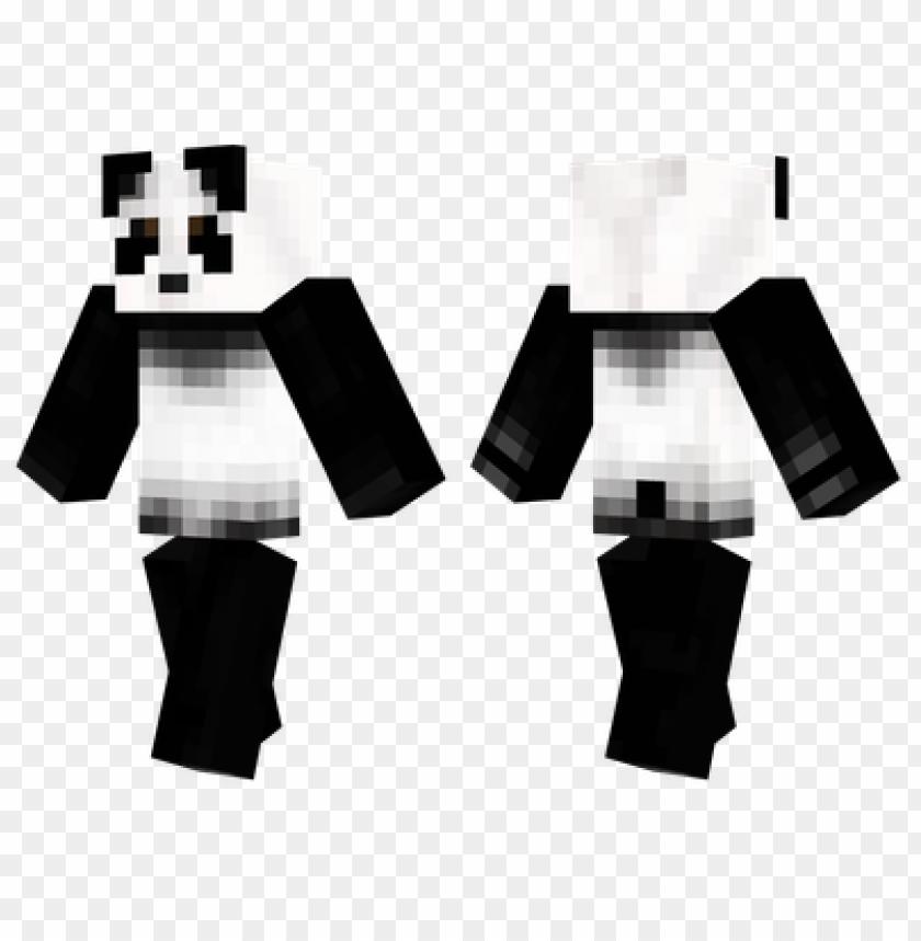 скин панды в кепке для майнкрафт #10