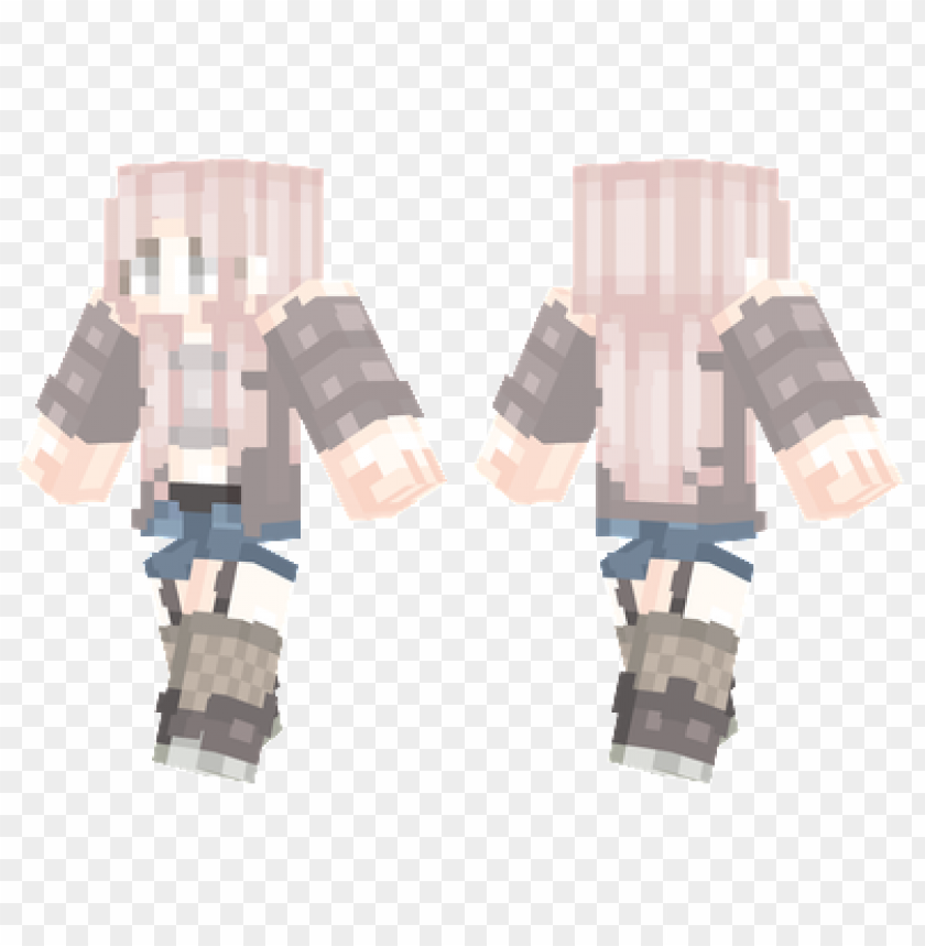 Minecraft Skins Pastel Casual Skin Png Image With Transparent
