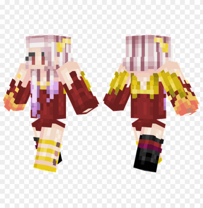 free PNG minecraft skins phoenix girl skin PNG image with transparent background PNG images transparent