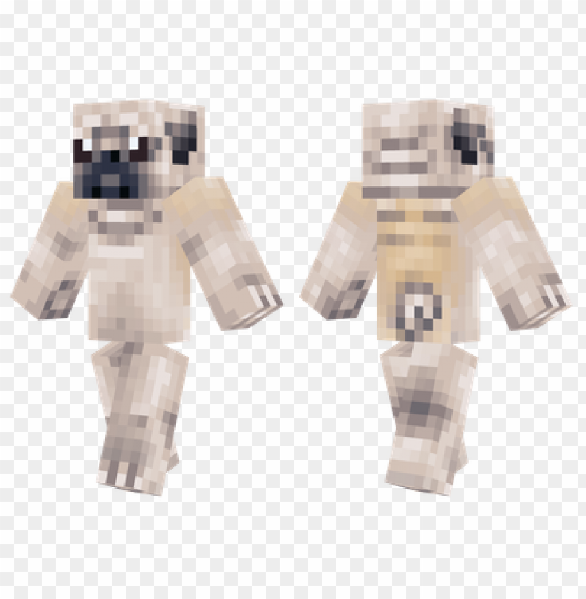 Minecraft Skins Pug Skin Png Image With Transparent Background Toppng