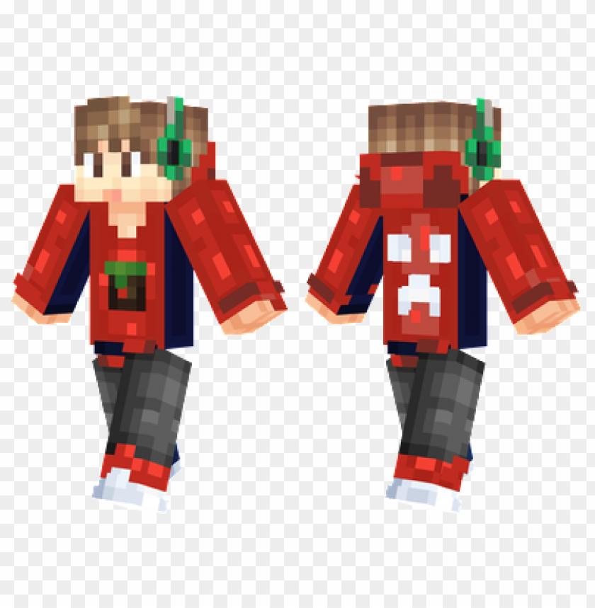 free PNG minecraft skins red gamer skin PNG image with transparent background PNG images transparent