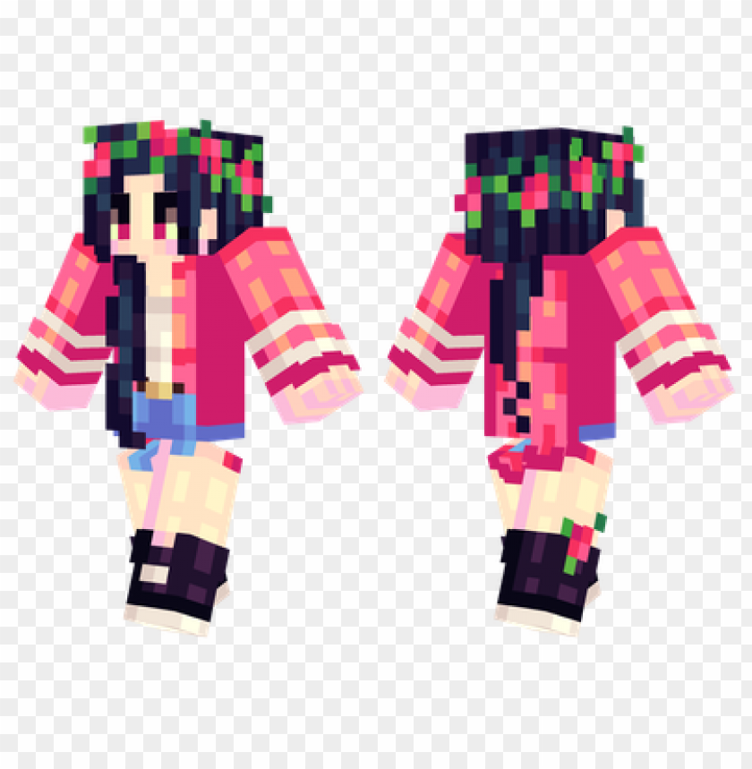 free PNG minecraft skins red roses skin PNG image with transparent background PNG images transparent