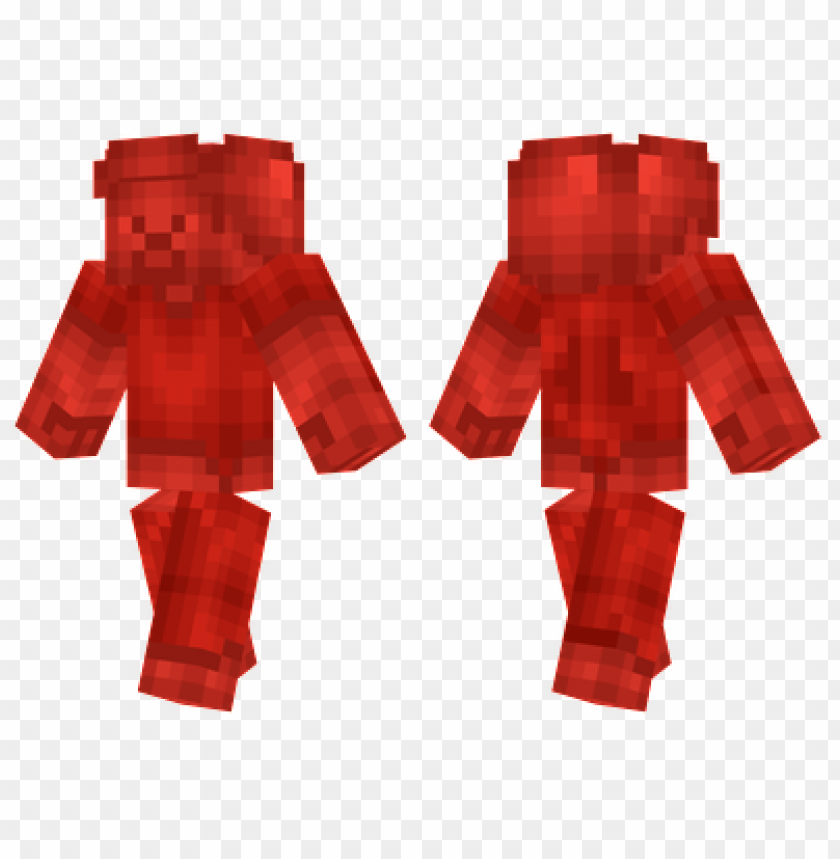 Minecraft Skins Redstone Steve Skin Png Image With Transparent Background Toppng