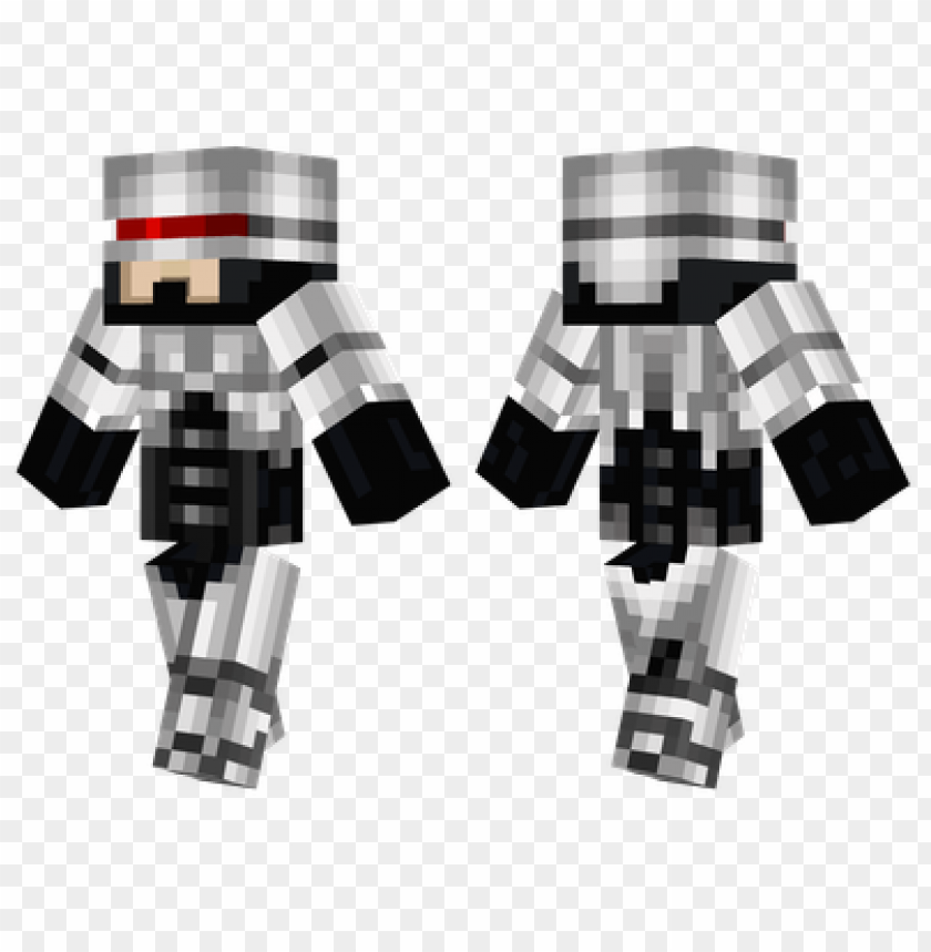 minecraft skins robocop skin PNG image with transparent background@toppng.com