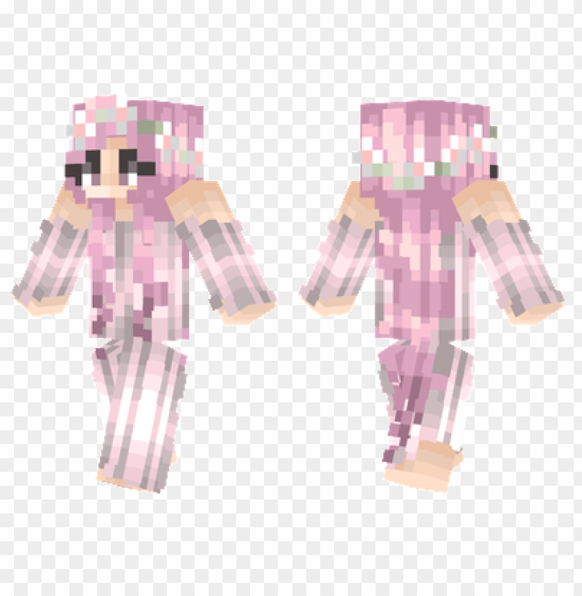 free PNG minecraft skins sakura girl skin PNG image with transparent background PNG images transparent