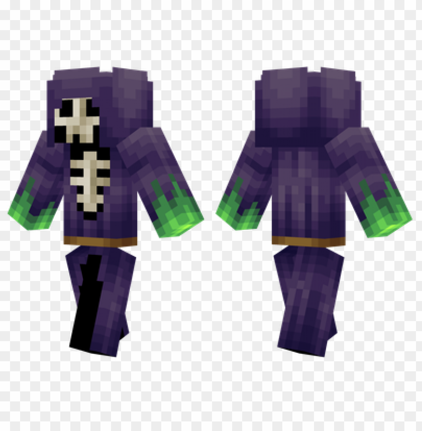 Minecraft Skins Skull Mage Skin Png Image With Transparent