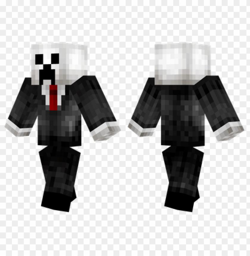 free PNG minecraft skins slenderman creeper skin PNG image with transparent background PNG images transparent