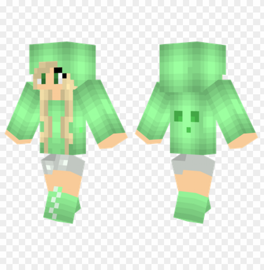 Minecraft Skins Slime Girl Skin Png Image With Transparent