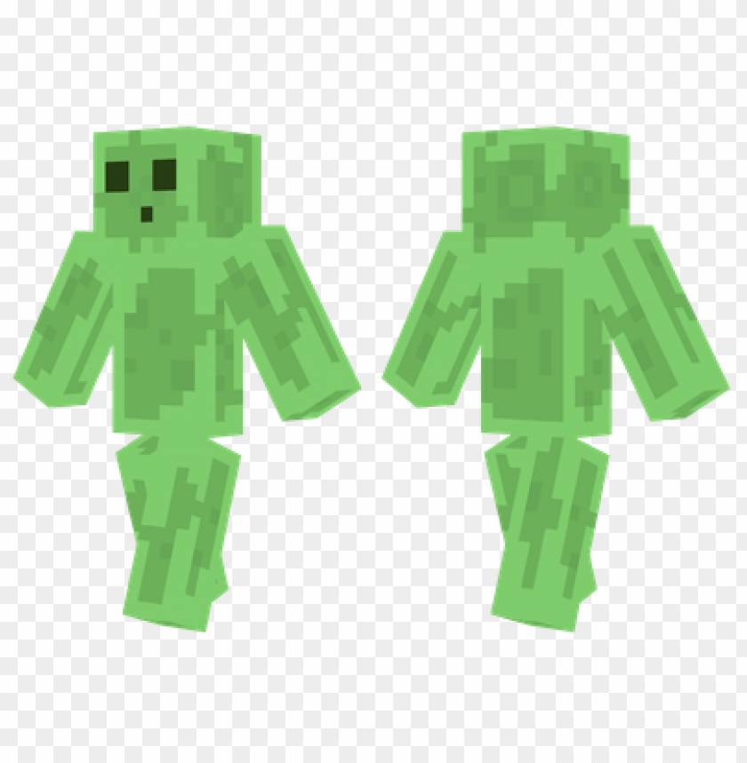 free PNG minecraft skins slime man skin PNG image with transparent background PNG images transparent