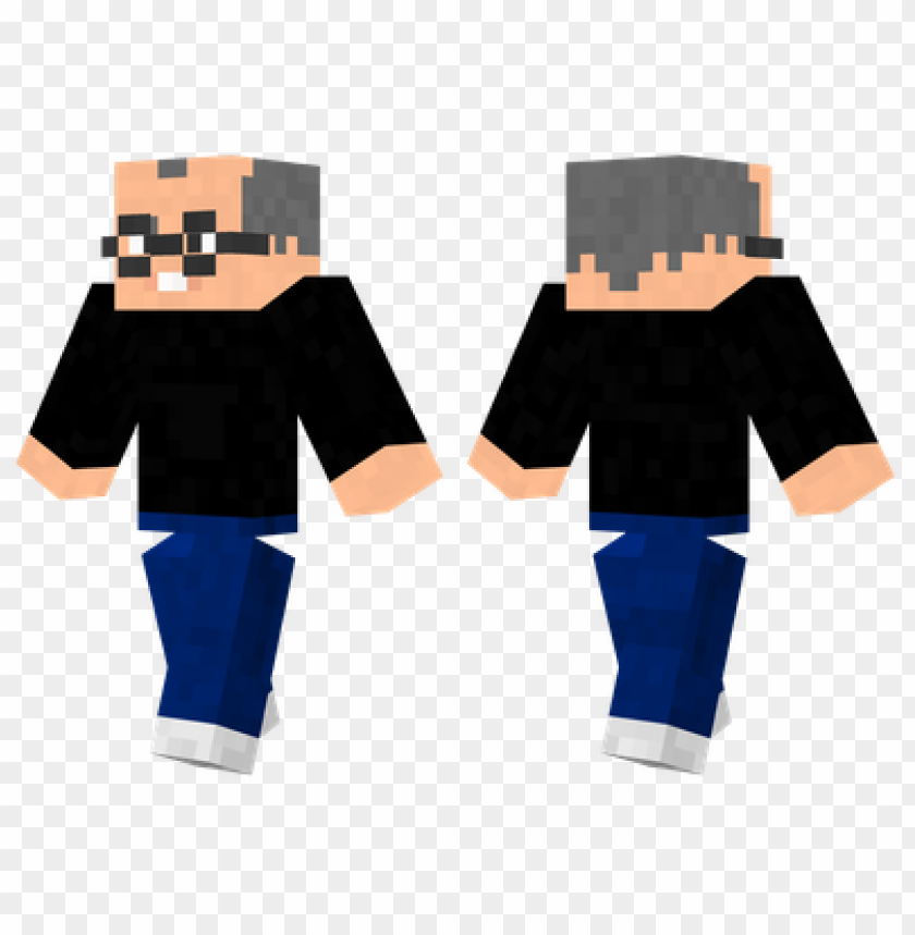 Minecraft Skins Steve Jobs Skin Png Image With Transparent Background Toppng