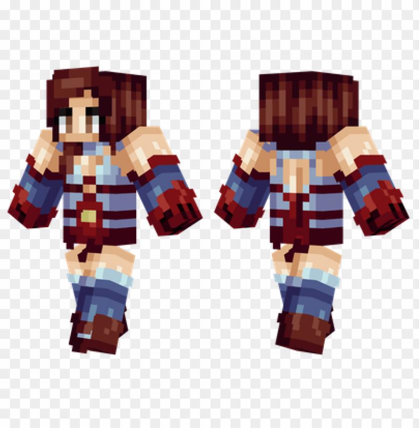 free PNG minecraft skins superhero girl skin PNG image with transparent background PNG images transparent