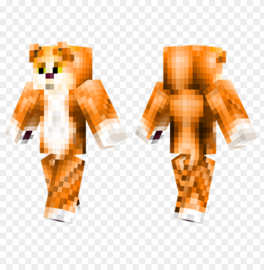 Minecraft Skins Tabby Cat Skin Png Image With Transparent Background Toppng