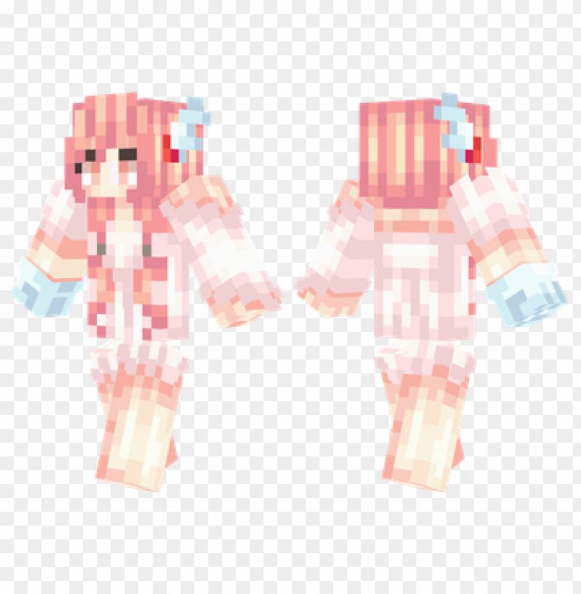free PNG minecraft skins valentines girl skin PNG image with transparent background PNG images transparent