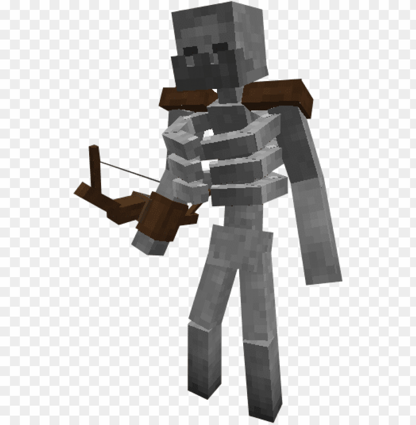Minecraft Transparent Minecraft Mutant Skeleto Png Image With Transparent Background Toppng