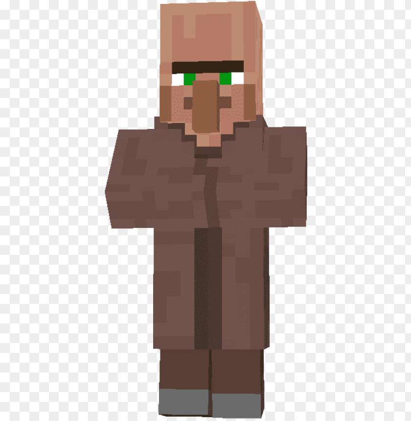 Minecraft Villager Farmer Minecraft Villager No Background Png