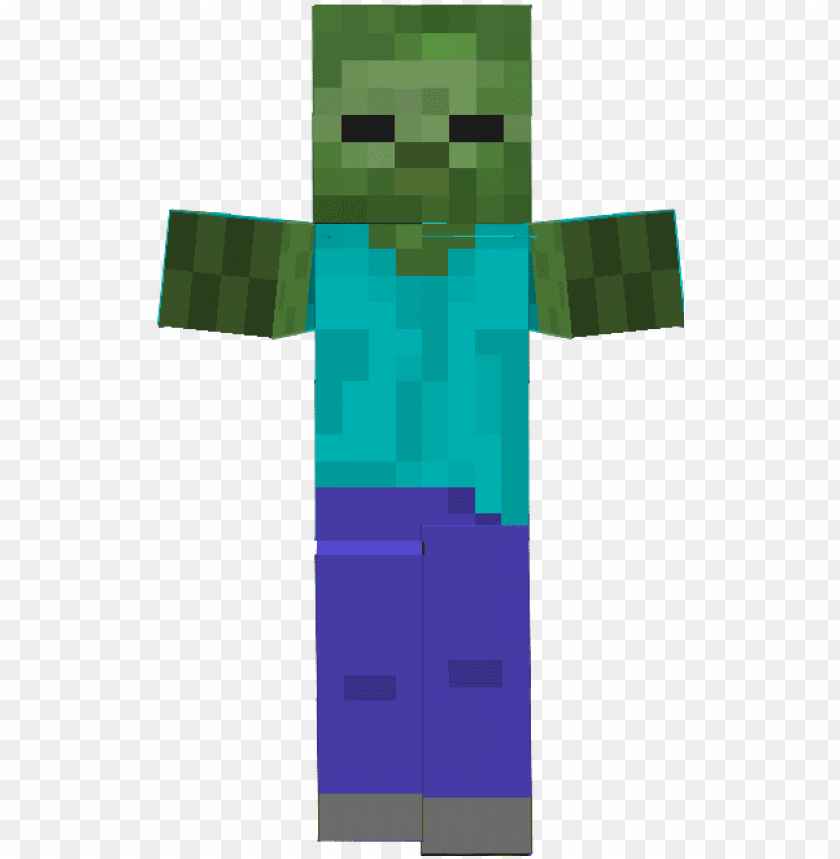 Minecraft Zombie Png Zumbi Do Minecraft Png Image With