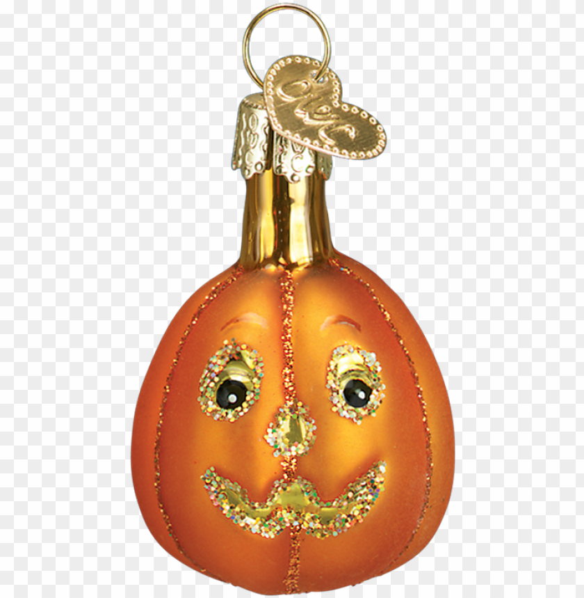 free PNG mini glass jack o lantern ornament - old world christmas 12 pc mini halloween ornament set PNG image with transparent background PNG images transparent