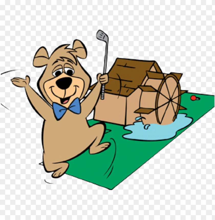 Mini Golf Clipart Transparent Yogi Bear Png Image With Transparent Background Toppng