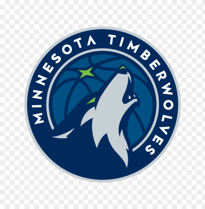 free PNG minnesota timberwolves new logo vector (.eps + .ai) PNG images transparent