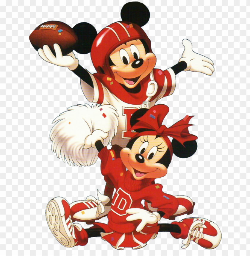 free PNG minnie & mickey│mouse - mickey mouse minnie mouse football PNG image with transparent background PNG images transparent