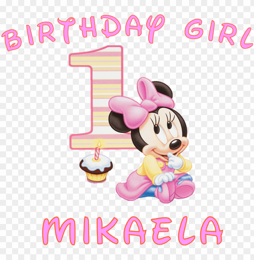 free PNG minnie mouse 1st birthday png image free stock - minnie mouse 1st birthday PNG image with transparent background PNG images transparent