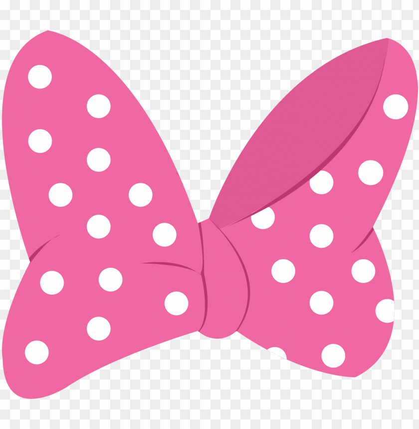 free PNG minnie mouse clipart, minnie bow, girl birthday, birthday - minnie mouse pink ribbo PNG image with transparent background PNG images transparent