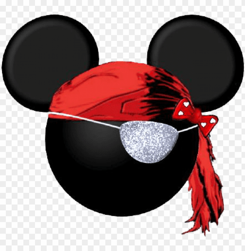 free PNG minnie mouse pirate clipart mickey head, mickey mouse - mickey mouse pirate head template PNG image with transparent background PNG images transparent